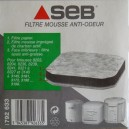 Seb - Filtre mousse anti-odeur 792 633